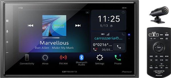画像1: カロッツェリア 6.8V型ワイドVGA/Bluetooth/USB/チューナー・DSPメインユニット (1)