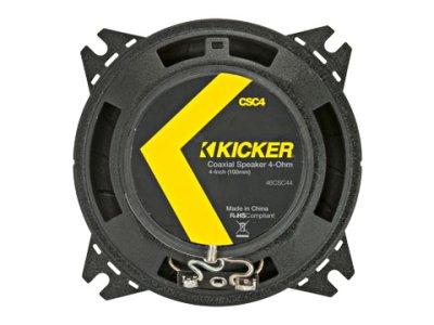 画像1: KICKER(キッカー)10cm2wayコアキシャルスピーカー CSシリーズ