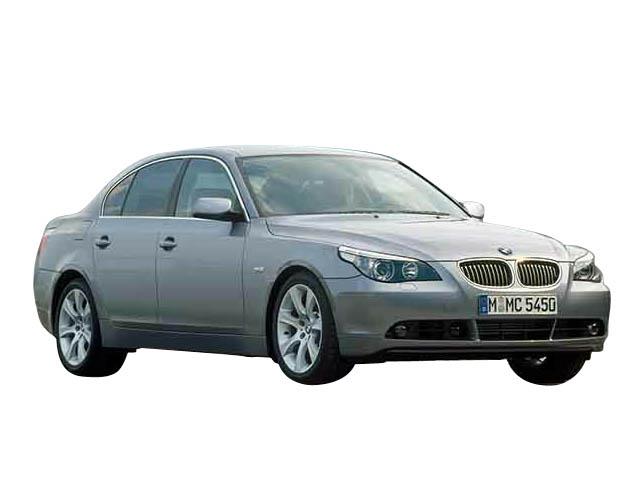 BMW5シリーズ(E60)カーナビ取付事例