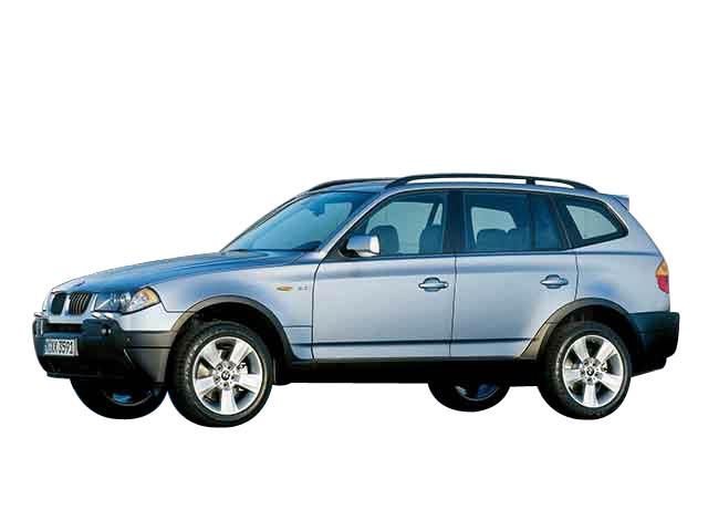 BMW X3カーナビ取付事例